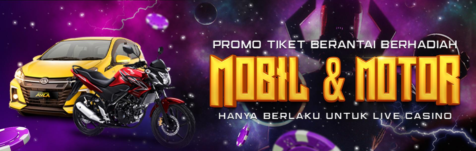 Promo Tiket Berantai LIve Casino